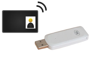 EdgeConnector card printing license – USB key