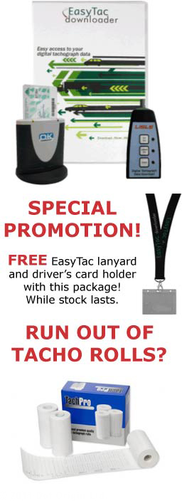 EasyTac Complete Digital Tachograph Solution