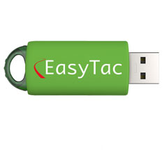 EasyTac USB flash memory stick - 8Gb