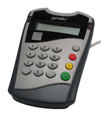 Gemalto IDBridge CT700 USB PINPad smartcard reader