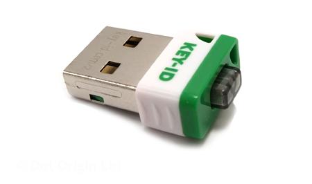 Key-ID FIDO2 push-button USB security key