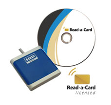 Read-a-Card contactless card ID automation kit