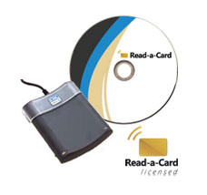 Omnikey 5325 CL with Read-a-Card e-license