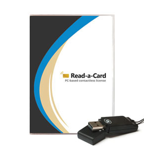 Read-a-Card software: Token license