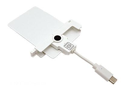 uTrust SmartFold SCR3500-C smartcard reader USB-C