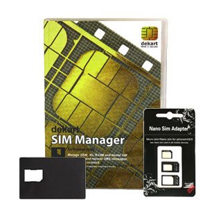 SIM Manager software only